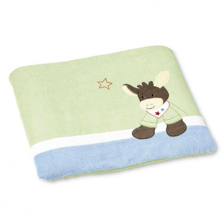 STERNTALER Change Mat Set Donkey Emmi, light green