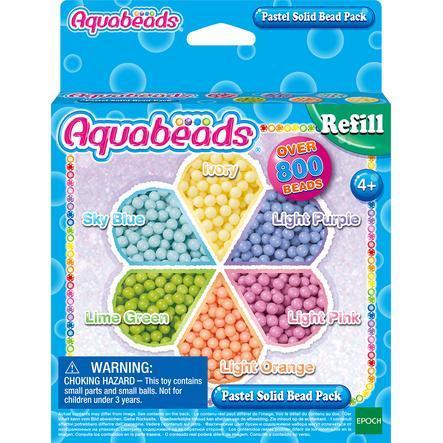 Aqua beads  Pastel l perlas