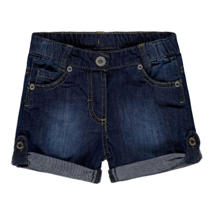Steiff Girls Shorts Jeans, blue denim