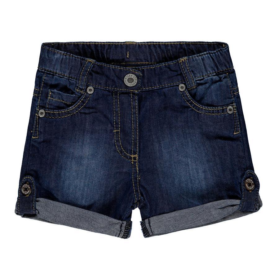 Steiff Girl s Shorts Jeans Jeans, blue denim