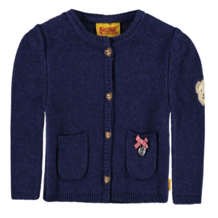 Steiff Girls Strickjacke twilight blue