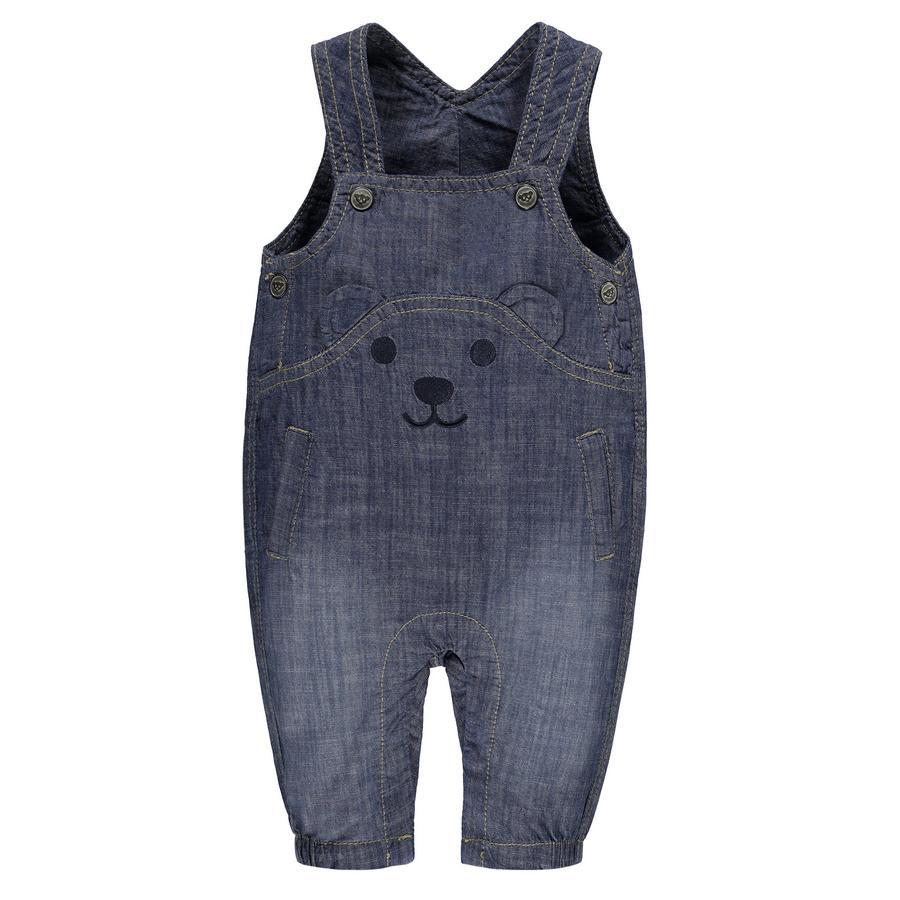 Steiff Girls Jeans-Latzhose blue denim