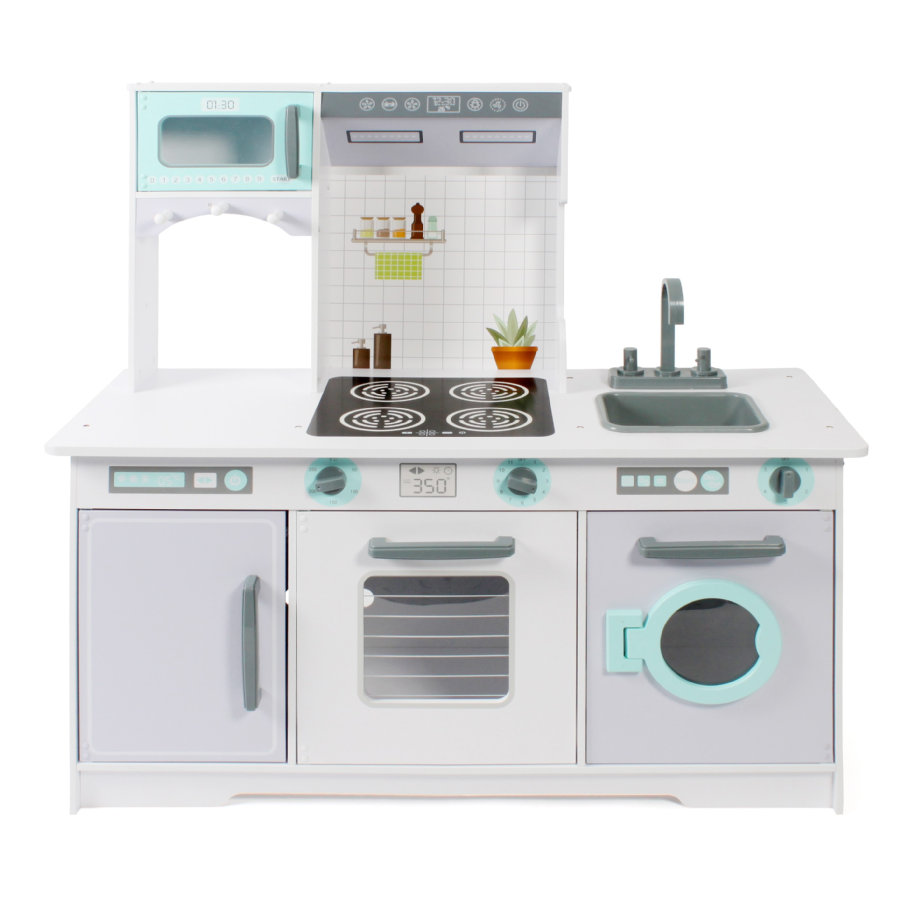BAYER CHIC 2000 Speelkeuken wit / grijs / mint