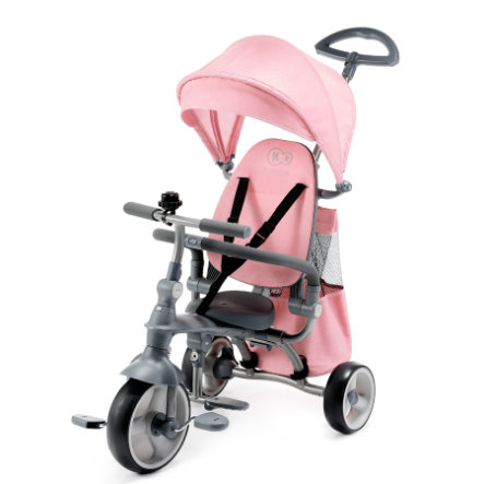 Kinderkraft Triciclo 6 JAZZ con manico guida, rosa