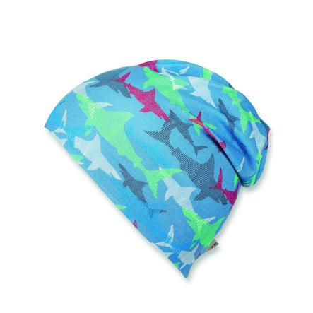 Sterntaler Boys Beanie - Camiseta Slouch Jersey azul marino