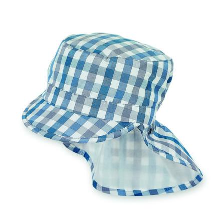 Sterntaler Boys gorra de picos con protección de cuello jeansblau