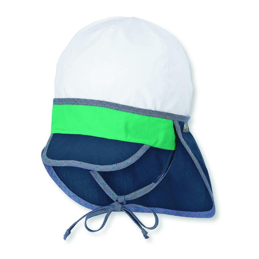 Sterntaler Schirmmütze mit Nackenschutz marine