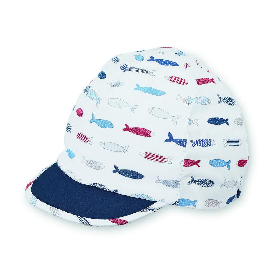 Sterntaler cappello a visiera bianco