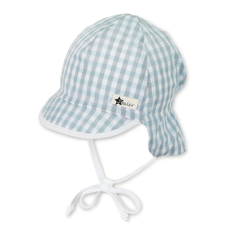 Sterntaler casquette à visière avec protège-cou ciel