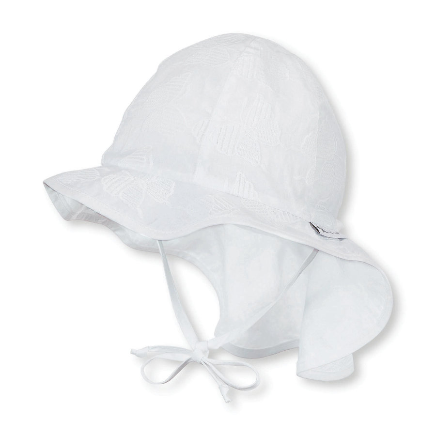 Sterntaler Shield Cap Flapper Jersey wit