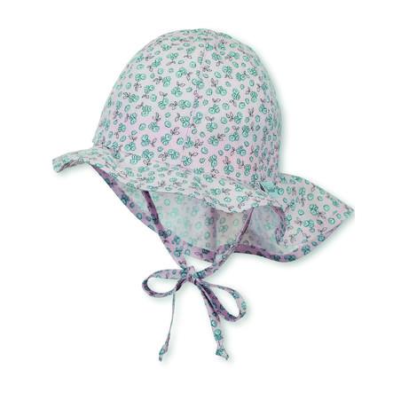 Sterntaler Blindaje Capuchón Flapper Jersey con estampado rosa pálido