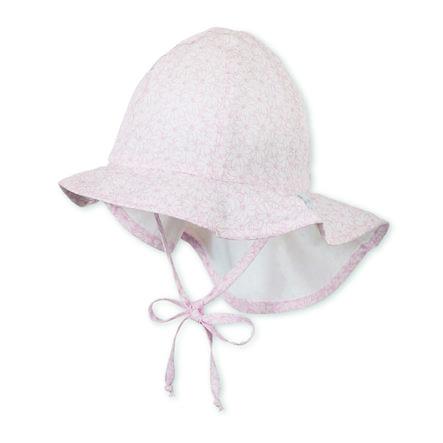Sterntaler Shield Cap Flapper Jersey lichtroze Jersey