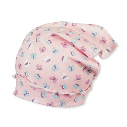 Sterntaler Girls Chustka na głowę różowa