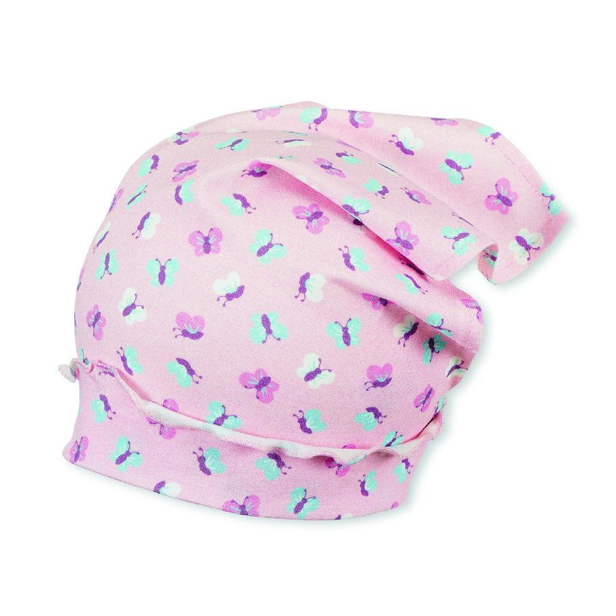 Sterntaler Girls Copricapo rosa pallido