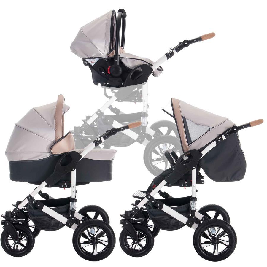 Bebebi kombinovaný myVario 3 v 1 2019 myHoney/grey beige