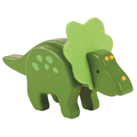 Ever Earth Tarttumislelu -bambu-triceratops