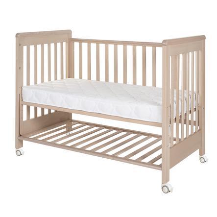 Treppy letto aggiuntivo Dream y Plus 2 naturale non trattato 60 x 120 cm