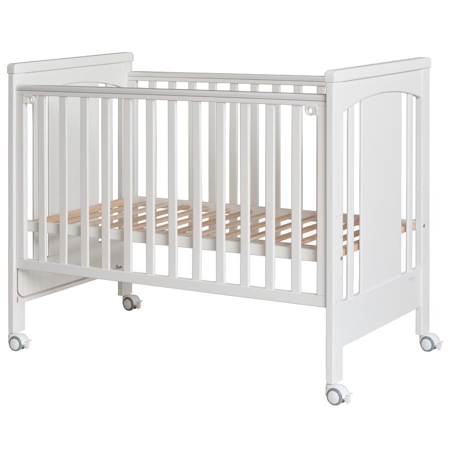 Treppy® Sivuvaunusänky Dreamy Plus 3 valkoinen 60 x 120 cm