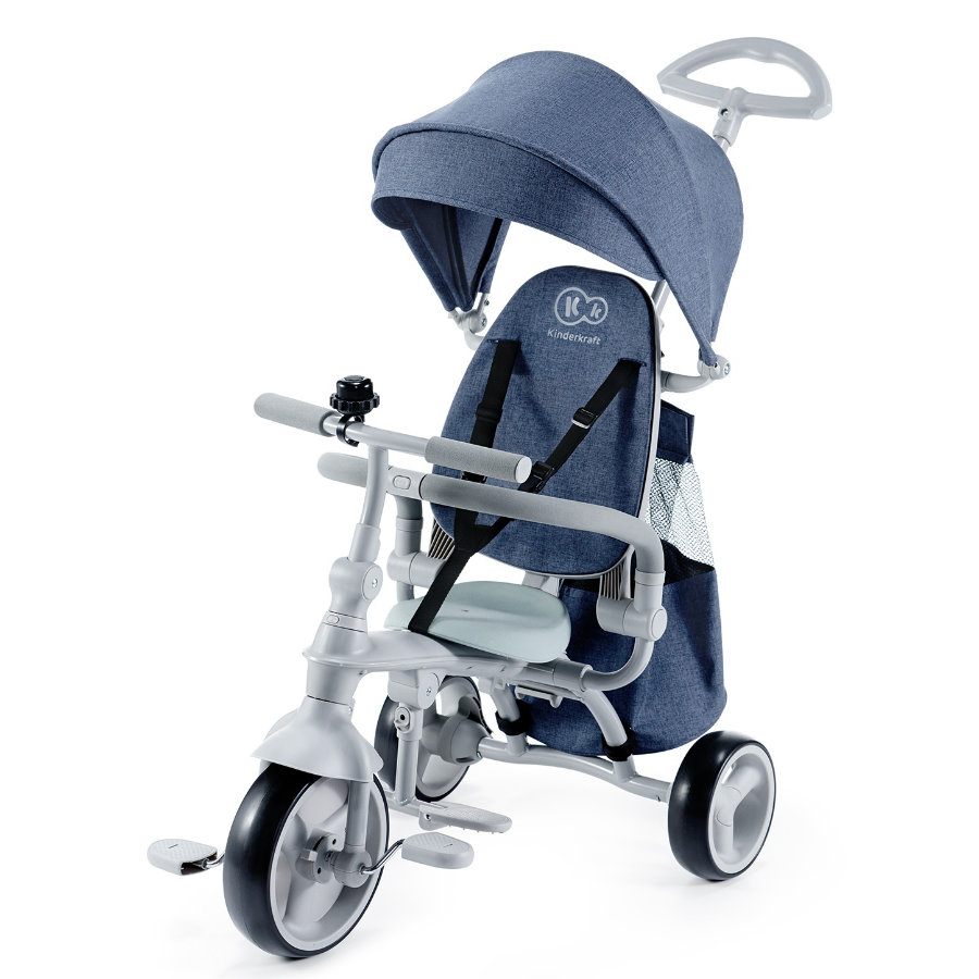 Kinderkraft Tricycle enfant JAZZ 6 denim