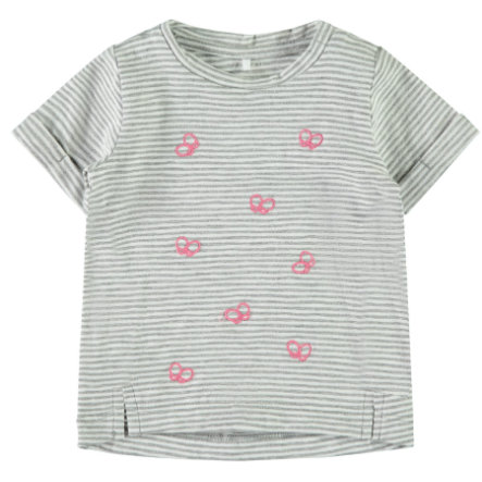 name it girls t-skjorte Fantasia Grey melange