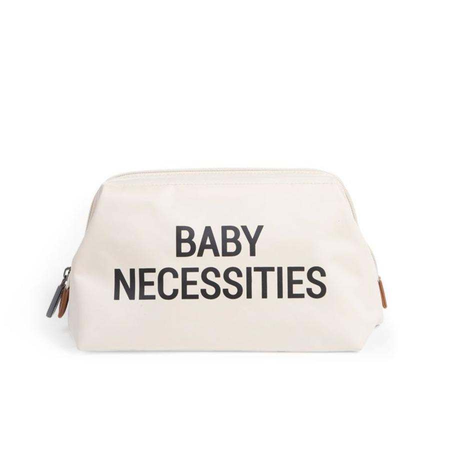 CHILDHOME Baby Necessities borsa da toilette crema