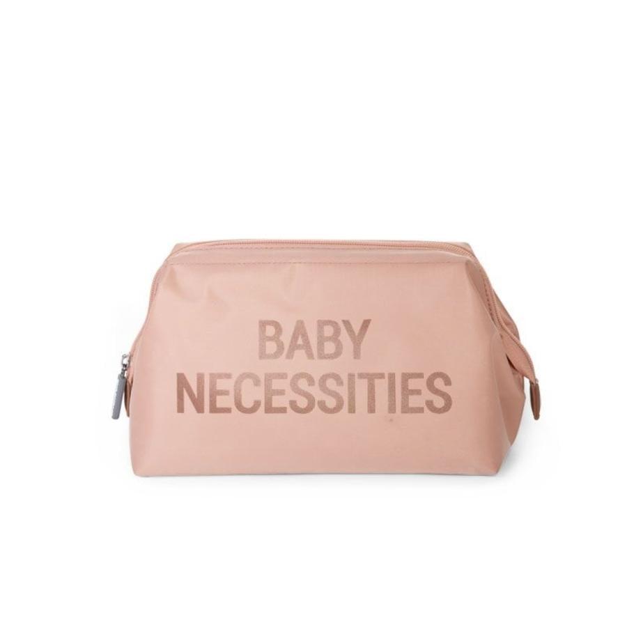 CHILDHOME Toilettilaukku Baby Necessities vaaleanpunainen