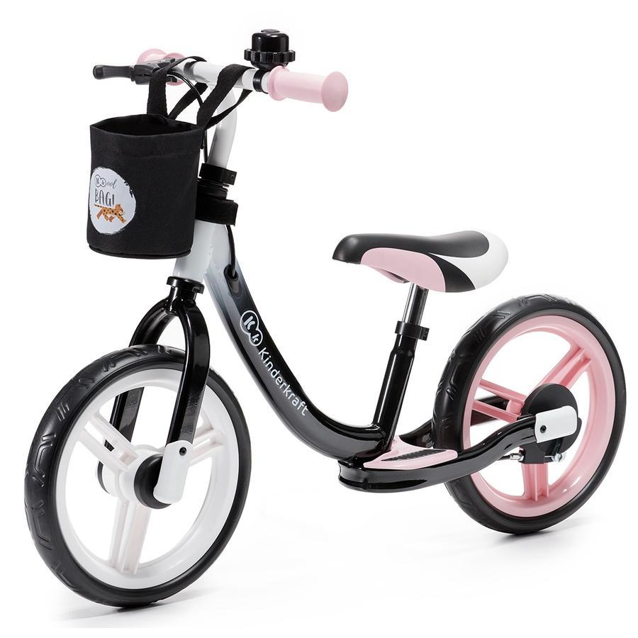 Kinderkraft - Balance Springcykel Space, rosa