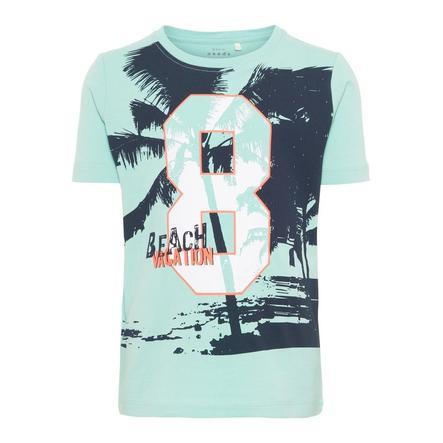 name it Girl s Vague océanique de T-Shirt Vuxi