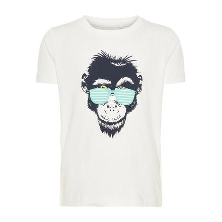 name it Girl s T-Shirt Vuxi Blanc Brillant