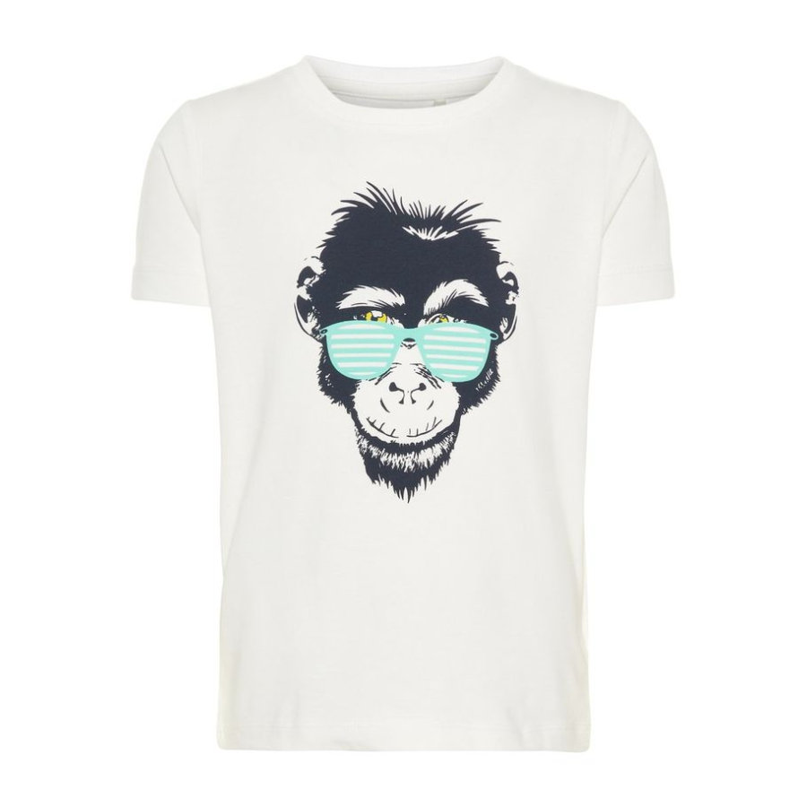 name it Girl s T-Shirt Vuxi Bianco brillante