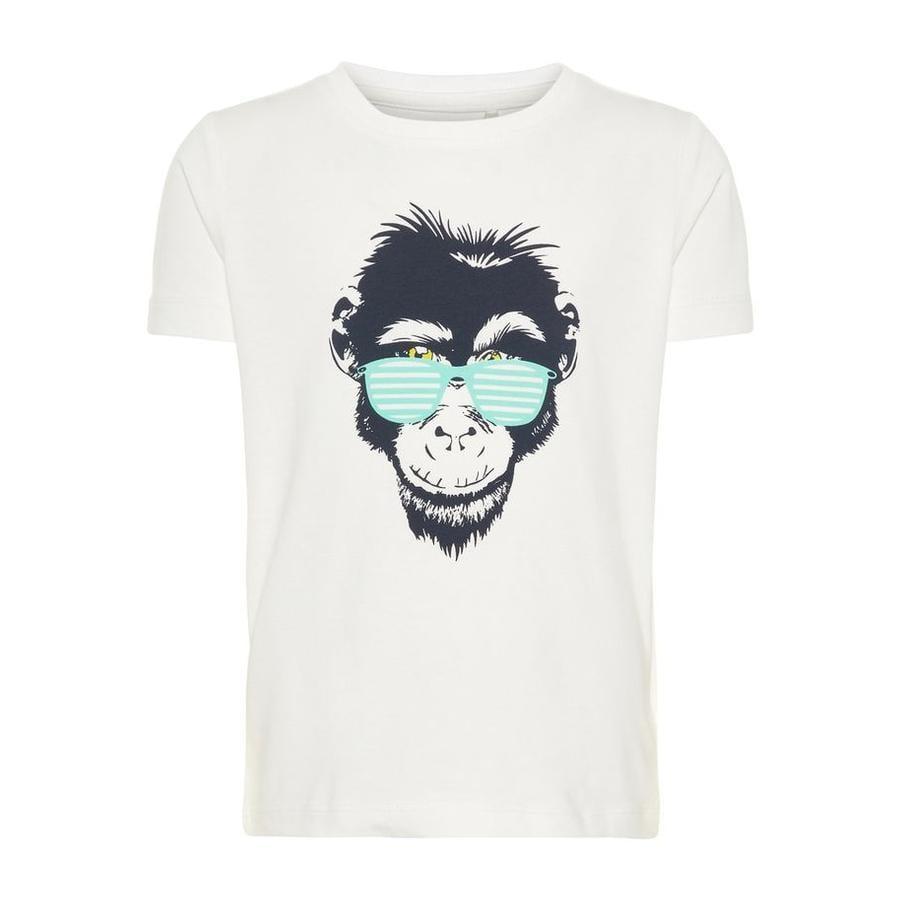 name it Girl s T-Shirt Vuxi Blanco brillante