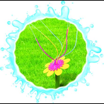 XTREM Toys and Sports Fleur cracheuse d'eau Happy Flower