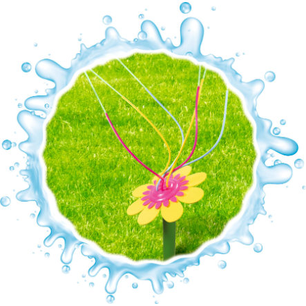 XTREM Toys and Sports - Waterpret happy flower