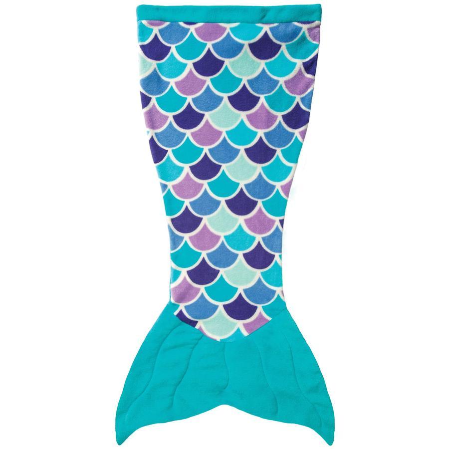 XTREM Toys and Sports - FIN FUN Cuddle Tails Meerjungfrauendecke, Aqua Dream Gr. S