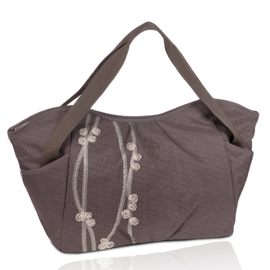 LÄSSIG Wickeltasche Casual Twin Bag Ribbon slate