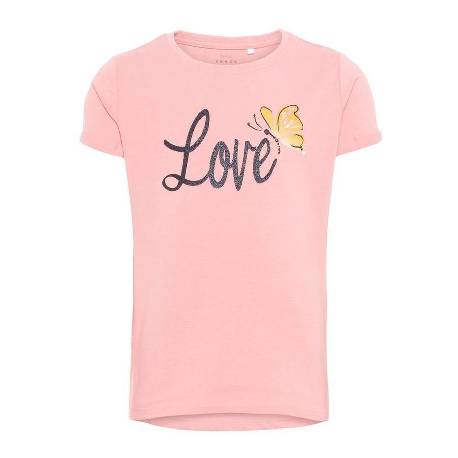 name it Girl s T-Shirt Vixi Géranium Rose