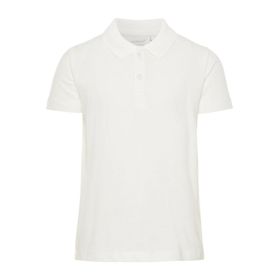 name it Boys Poloshirt Fapolo Blanc Brillant