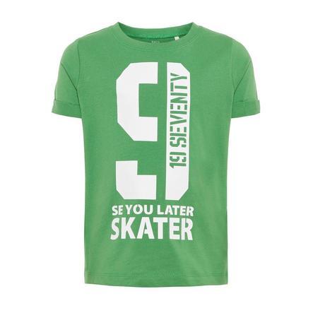 name it Boys T-Shirt Victor medium Green