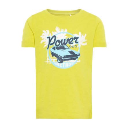 name it Boys T-Shirt Victor Green Sheen
