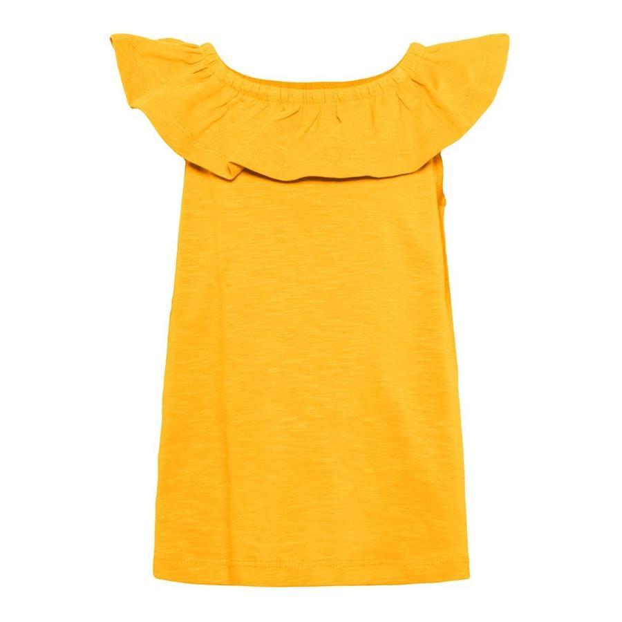 name it Girls Top Verita Cadmium Yellow