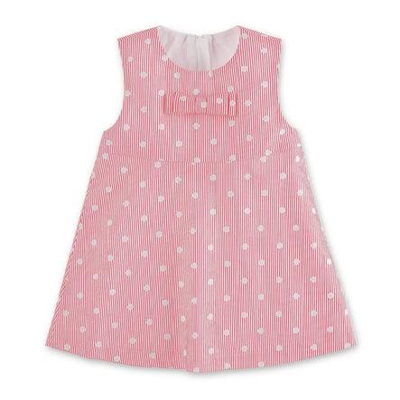 Sterntaler klänning magenta