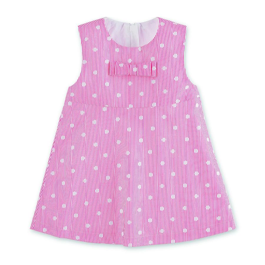 Sterntaler Kleid magenta