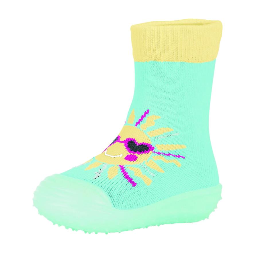 Sterntaler Girls Adventure-Socken Sonne meeresblau