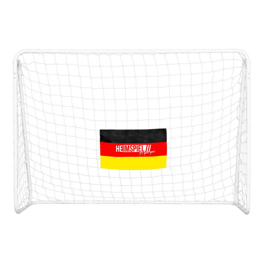 XTREM Toys and Sports - Voetbal goal Champion met doelwand Duitsland