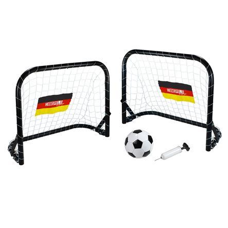 XTREM Toys and Sports - Heimspiel Mini Fussballtor-Set Deutschland