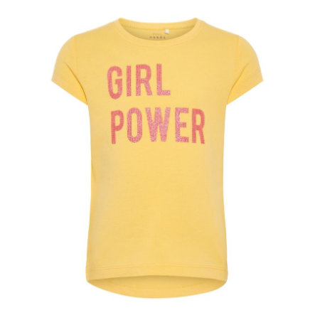 name it Girl s T-Shirt Veen bleke mariegold