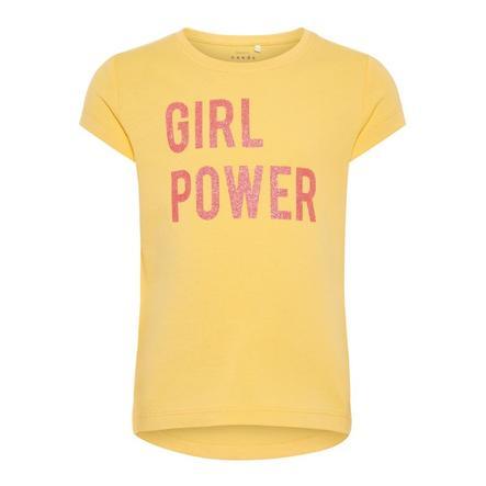 name it Girls T-Shirt Veen pale mariegold