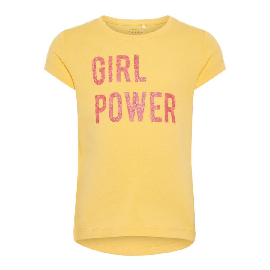 name it Girl s T-Shirt Veen pale mariegold