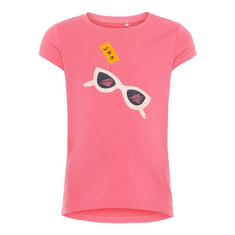 name it Girl s T-Shirt Veen Camellia rose