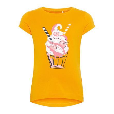 name it Girl s Żółty kadm T-Shirt Veen Cadmium